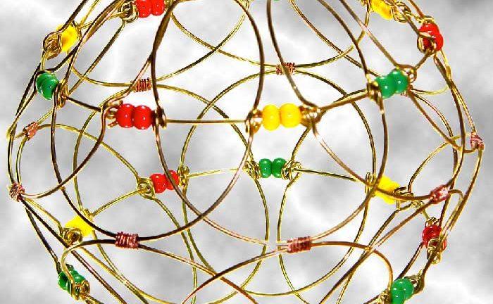 mandala tridimensionale nella sua forma di mondo