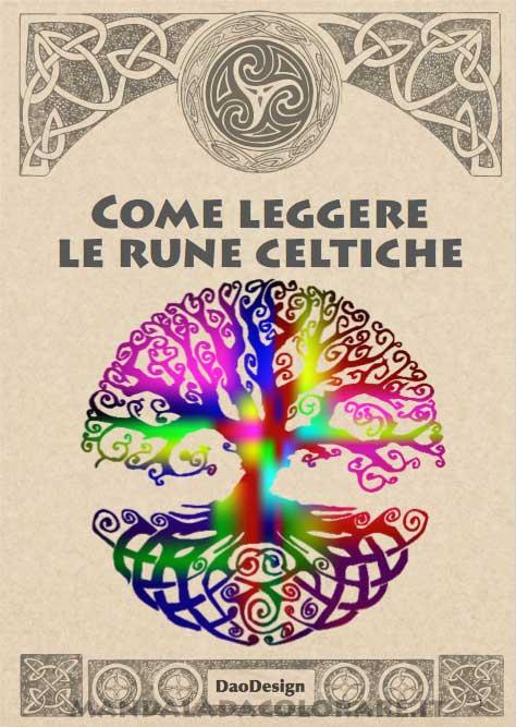 come leggere le rune celtiche Copertina